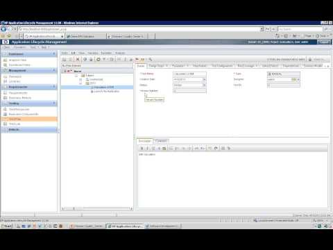 ITeLearn Quality Center Tutorial Day 02 QC Tutorial Video HP QC ...