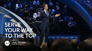 Download Video Joel Osteen - Serve Your Way Up MP3 3GP MP4