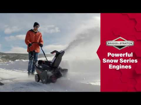 Briggs & Stratton Single-Stage Snowblower 1696715 in Okeechobee, Florida - Video 1