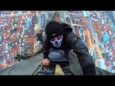 Terrifying Climb Up The Old Spire Of The World's Tallest Church
