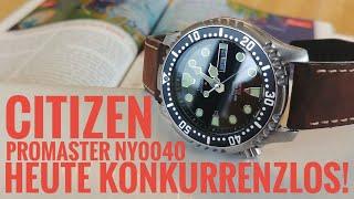 Citizen Promaster Automatic Taucheruhr NY0040-09EE Vorstellung, deutsch