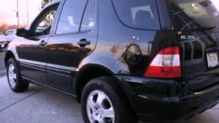 preview picture of video '2004 MERCEDES-BENZ ML350 4MATIC Morristown NJ'