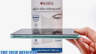 Zagg Glass Elite VisionGuard+ for iPhone 11: Protects Your Screen, Your Eyes & Your Health!