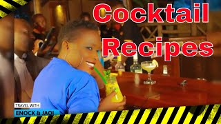 Christmas Cocktails To Drink This Holiday Season | Travel With Enock & Jaqi | Ep12