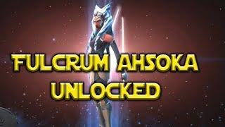 Star Wars: Galaxy Of Heroes - Fulcrum Ahsoka Unlocked