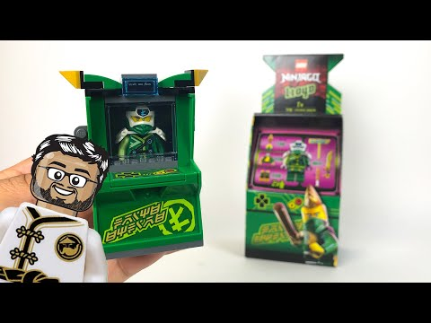 Vidéo LEGO Ninjago 71716 : Avatar Lloyd - Capsule Arcade