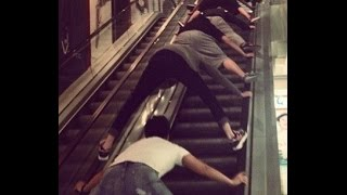 faulty escalator KL Sentral Station