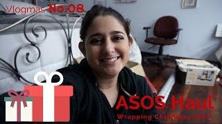 vlogmas day 8 || ASOS Package Mini Haul