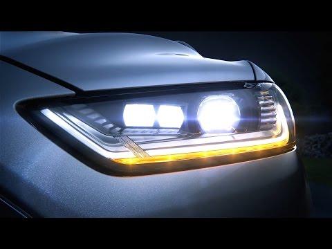Ford Mondeo - dynamic LED headlights (1080p)