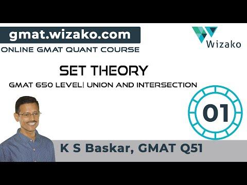 GMAT Set Theory Sample Question | GMAT Online Preparation