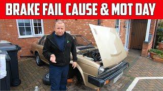 Triumph Acclaim Brake Fail Cause And MOT Day Part 39