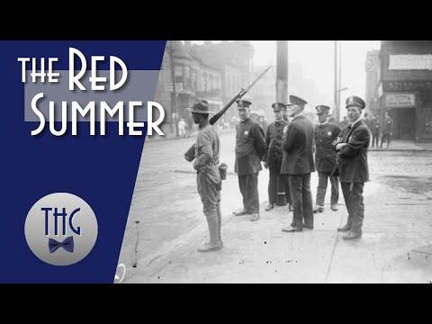 "The ""Red Summer"" of 1919 (2019) - The violent killings of black people, most of which were veteran of WW1 in 1919. [00:13:38]"