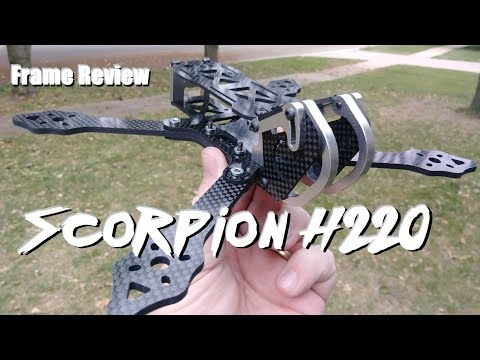 Scorpion H220 Frame Review (Generic Chameleon) From Banggood