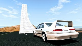 Who Needs Bridges Anyway? #1 - BeamNG Drive Jumps & Crashes