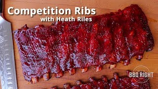 Competition Rib Recipe from Pitmaster Heath Riles