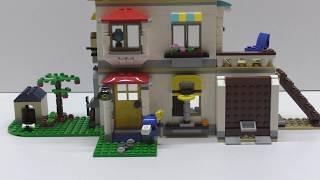Сборка Конструктора LEGO Creator Загородный дом 3 в 1 / Дом №1