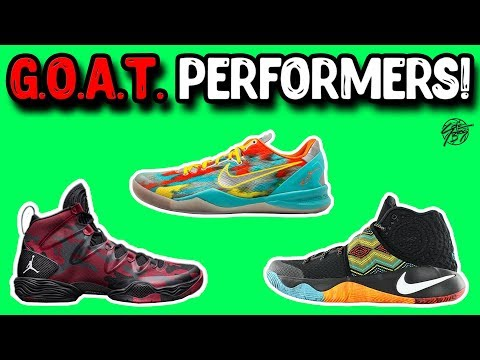 Over the Years… What are the GOAT Performing Basketball Shoes!?