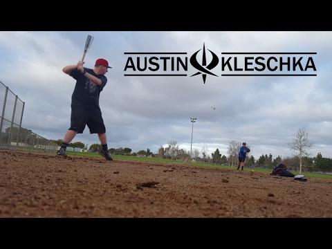 Kleschka Vlogs | SOFTBALL/BASEBALL PRACTICE