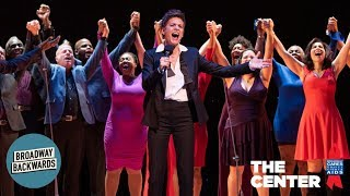 "Broadway Inspirational Voices sings ""Louder Than Words"" with Jenn Colella at Broadway Back"