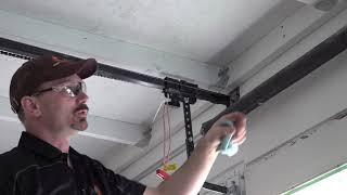 How To Lube A Garage Door