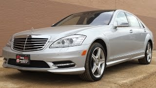 2010 Mercedes-Benz S550 4Matic - AMG Sports Pkg, Nav, Pano Roof, Massage Chairs | GREAT VALUE