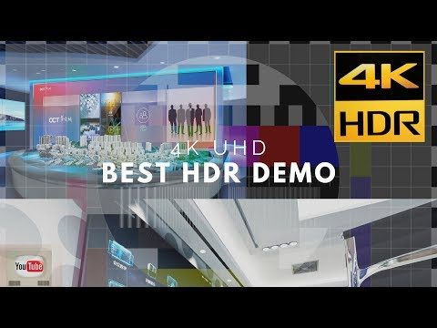 BEST HDR DEMO FOR TVs   4KHDR TEST
