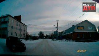 Момент ДТП: Нежданчик, Ульяновск, 02.12.2016