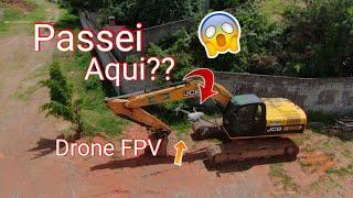 Drone FPV DUPLO, IGREJA, CEMITÉRIO, AVIÃO e mais CURIOSIDADES em Araçariguama SP