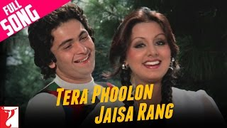 Tera Phoolon Jaisa Rang | Kabhi Kabhie | Rishi Kapoor