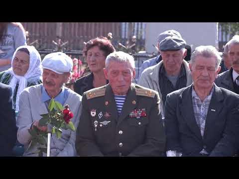 Открытие мемориального комплекса в с Якшимбетово