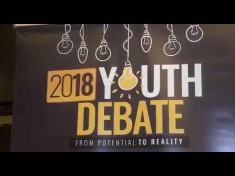 Mukhtar Zubairu Sirajo @ 2018 Youth Debate
