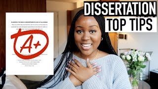 HOW I WROTE MY DISSERTATION IN A WEEK! Top Tips + Tricks