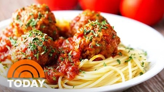 The Alberti Brothers' Valentine's Day Dinner: Spaghetti, Tiramisu | TODAY