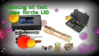 Unboxing Et Test Lampe Torche LED Amazon