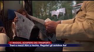 Etg - Sciopero Dei Trasporti Il 17 Maggio: Treni E Mezzi Atm A Rischio. Regolari Gli Autobus ASF