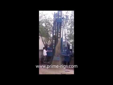 Truck Mounted Portable Hydraulic Water Well Rotary Drill Rig
