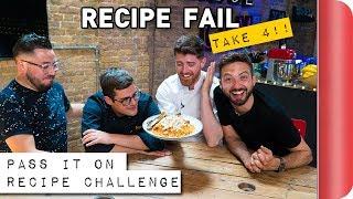 RECIPE VIDEO FAIL - TAKE 4!! | Pass it On