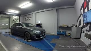 Audi RS3 2.5 TFSI 367cv AUTO Reprogrammation Moteur @ 400cv Digiservices Paris 77 Dyno