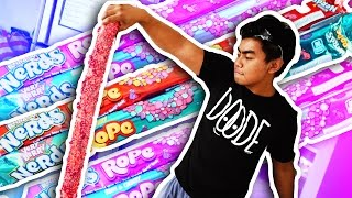 DIY How To Make GIANT NERDS ROPE!