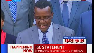 Justice Maraga: This is meant to intimidate the judiciary and will never be allowed to happen