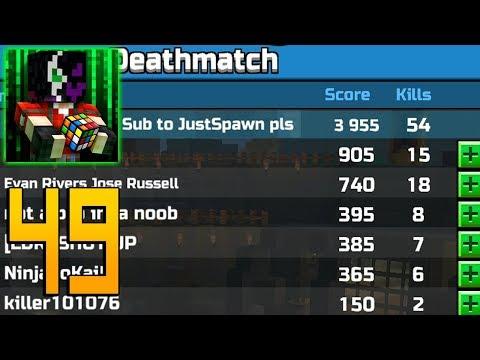 Pixel Gun 3D - Gameplay Walkthrough Part 49 - 54 kills