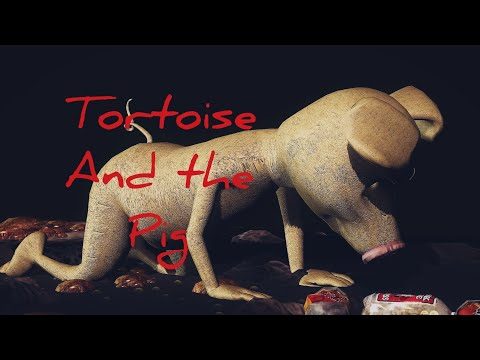 African Folktales: The Tortoise and the Pig subtitle in English
