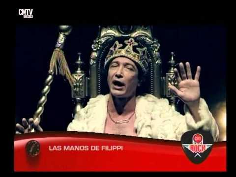 Las Manos de Filippi video Entrevista CM Rock - Mayo 2015