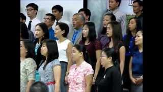 Berean Bible Baptist Church Choir   'Only Jesus'   April'15