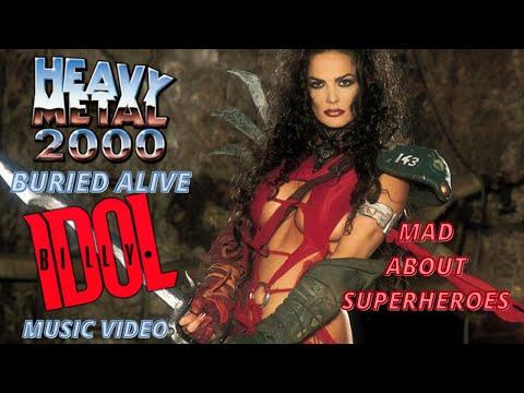 poster HEAVY METAL 2000 Michael Coldewey - CINESUD movie