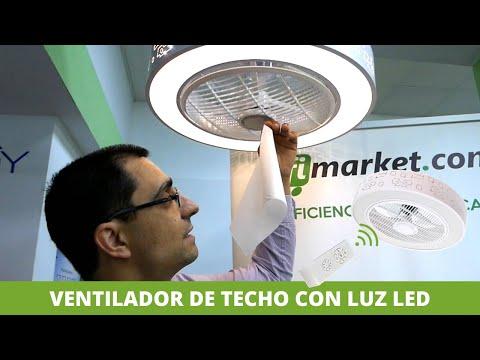 ✅Nuevo Ventilador de Techo con Luz LED