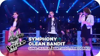 Symphony - Clean Bandit (Gina-Maria, Santiago, Friederike) | Battles | The Voice Kids 2018 | SAT.1