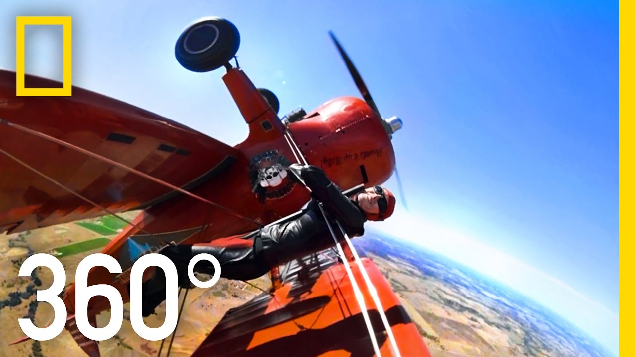 360° Wingwalker - Part 2 | National Geographic thumbnail