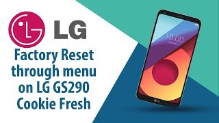 How to Factory Reset through menu on LG Cookie Fresh GS290?