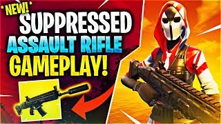 *NEW* SUPPRESSED ASSAULT RIFLE! Feat. Timthetatman, Kyle Long & BasicallyIDoWrk